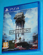 Star Wars Battlefront Battle Front - Sony Playstation 4 PS4 - PAL New Nuovo