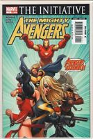 Mighty Avengers #1 Brian Bendis Iron Man Black Widow Captain Marvel Sentry 9.6