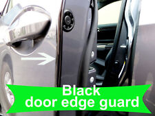 Fit 2005-2018 AUDI BLACK Door Edge Protector Guard Moulding 4pcs