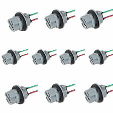 10x 7440 xenon wedge ampoule led socket holder connecteur extension harnais fil nouveau