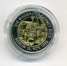 Medaille 20 Jahre Maueröffnung die Mauer öffnet sich 1989 - 2009 Berlin M_914