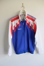 Adidas Originals tracksuit jacket | S | red/white/blue trefoil
