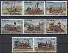 Paraguay MiNr. 2774/81 ** 150. Jahrestag der Eröffnung der 1. öffentl. Eisenbahn
