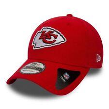 New Era 9FORTY NFL Kansas City Chiefs Rouge la Ligue Visière Courbe Strapback