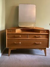 More details for vintage g-plan dressing table e gomme brandon range 1950s with detachable mirror