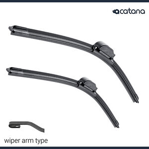 """Wiper Blades for Toyota Coaster 2001 - 2015  Front Pair 22"""" + 22"""" Windscreen"""