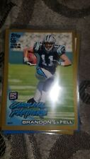 2010 Topps Gold #'d 599/2010 #356 Brandon LaFell RC Carolina Panthers