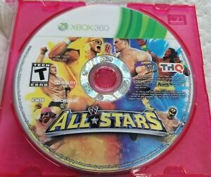 WWE All Stars Microsoft Xbox 360 Disc Only Tested Working