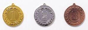 3 Medaillen für jeden Anlass, mit Deutschland-Bändern (9216)