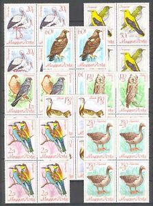 Hungary 1968. Animals / birds set in 4-blocks MNH (**) Mi.: 2698-2405 / 28 EUR