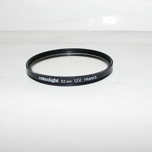 Genuine Cokinlight UV 52mm Lens Filter Made France (coating damaged/scratched)