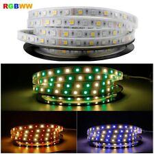 DC12V 5M 5050 RGBWW LED Strip Flexible ip67 Waterproof 300LED LED Light Strips