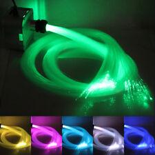 32w RGB Twinkle Remote LED Fiber Optic Star Ceiling Kit Light 1000pcs 5m 0.75mm