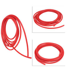Red 4mm 5 Meter Silicone Vacuum Hose For Air Pump/Gauge Fitting Inlet/Outlet Use