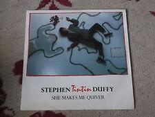 "Stephen Tin Tin Duffy: She makes me quiver   7"" BRAND NEW VINYL EX SHOP"