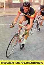 ROGER DE VLAEMINCK Cyclisme Team FLANDRIA 70s ciclismo Cycling champion BELGIQUE