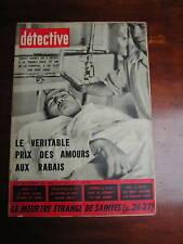 Détective 1961 SART FAGNE GIF YVETTE MONTEMBOEUF SANNOI