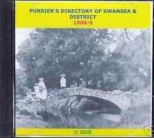 GENEALOGY DIRECTORY OF SWANSEA & DISTRICT 1908-9 CD