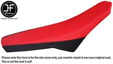 BLACK & RED AUTOMOTIVE VINYL CUSTOM FOR APRILIA SX RX 125 08-11 SEAT COVER ONLY