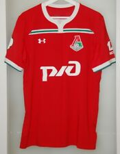 Match worn shirt Lokomotiv Moscow Russia jersey Poland national team PSG France