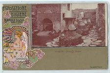 CARTOLINA ESPOSIZIONE D' IGIENE NAPOLI 1900 584/A