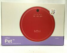 bObsweep bObi Pet Vacuum Robotic Cordless Floor Cleaner and Mop, Scarlet