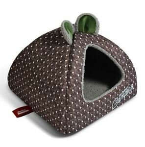 New Pet Dog Cat House Bed Tent Kennel Cushion Indoor House Mat Removable S,M,L