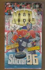 1995-96 Imperial Super Sticker 96 Unopened Hockey Box Sealed From Israel