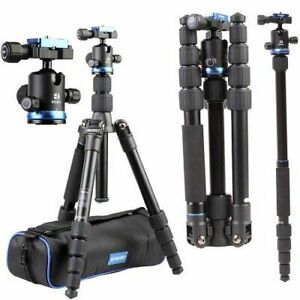 Benro iFOTO 5 Section Aluminium Travel Tripod - Holds 8KG # FIF19AIB0 (UK Stock)