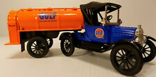 Ertl  1918 FORD RUNABOUT WITH TRAILER GULF Oil Co  #10 in Series NOS #21040P