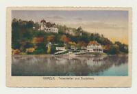 AK / Hameln, Felsenkeller und Bootshaus