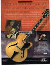2002 HOFNER Jazzica Electric Guitar DENNY JIOSA Vtg Print Ad