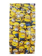 Kids Children Despicable Me Minions Cartoon Comfortable Bath Beach Holiday Towel