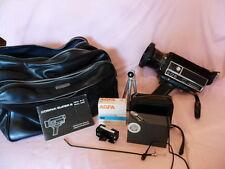 Filmkamera COSINA / SUPER 8 SSL 810 SSL 800 und Zubehör und Gebrauchsanweisung