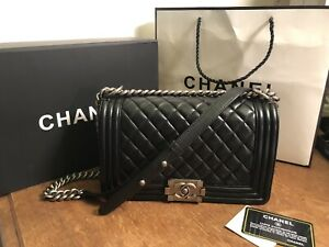 Chanel Bag Le Boy Medium Size