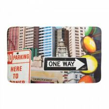 CITY TRAFFIC SIGNS FLOOR MAT by Accent Plus – ITEM# 17398