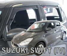 For SUZUKI SWIFT  IV  2017 ->  5.doors  Wind deflectors 4.pc  HEKO   28656
