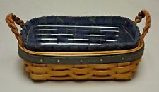 Longaberger 2002 Collector's Club Renewal Basket w/ Liner & Protector Come See!