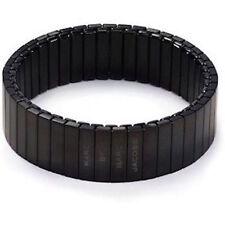 Marc by Marc Jacobs Bracelet Stretch Watch Bandz Black NEW