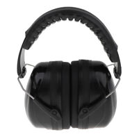 Safety Ear Muffs Professional Ear Defenders for Sleep/Shooting Black