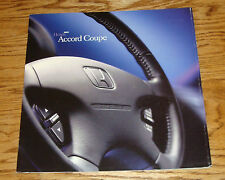 Original 2001 Honda Accord Coupe Deluxe Sales Brochure 01 LX EX