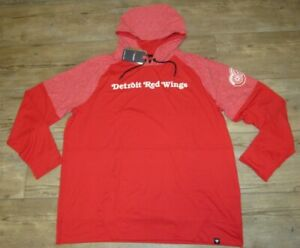 Fanatics Detroit Red Wings Pullover Soft Hoodie Jacket size Men's 3XL