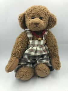 Ganz Cottage Collectibles 1996 Brown Teddy Bear Jointed Plush Stuffed Toy Animal