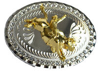 Western Belt Buckle Rodeo Bucking Bull buckle men Mexican cowboy rider unisex