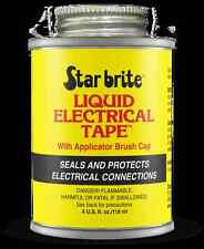 Starbrite Liquid Electrical Tape 4oz (118g) Tin - Black - Waterproof Sealant