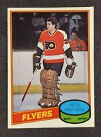 1980-81 O-Pee-Chee Pete Peeters Rookie RC #279 Flyers Ex+ Free Shipping!