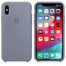 OFFICIAL ORIGINAL ECHT APPLE iPhone XS Silikon Case Lavender Gray