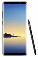 Samsung Galaxy Note8 SM-N950 - 64GB - Midnight Black (Unlocked) Smartphone