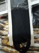 14 yards Black cotton piping/Cord/Lace/Trim/Dori with shine 1 inches