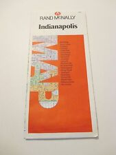RAND MCNALLY Indianapolis Indiana Street City Road Map